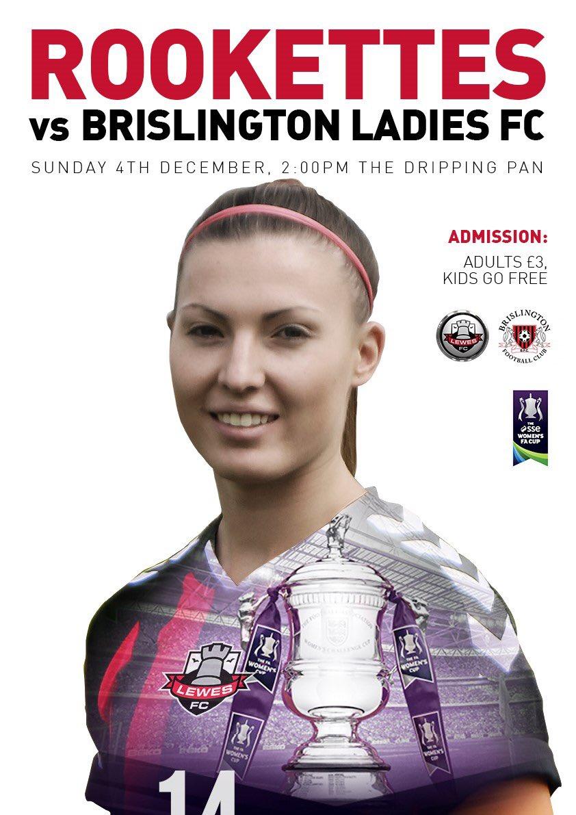 Lewes v Brislington, FA Women's Cup, December 2016