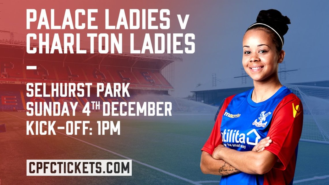 Crystal Palace v Charlton Athletic, FA Women's Cup, December 2016