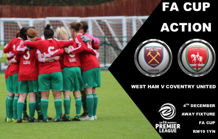 West Ham United v Coventry United, FA Women's Cup, December 2016